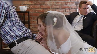 VIP4K. Rich baffle pays well to fuck hot young babe on say no to wedding day